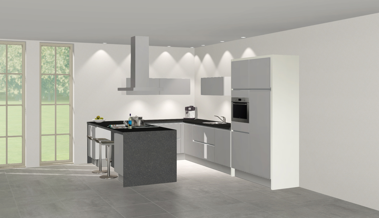 Zelf keukendeurtjes maken for Keuken zelf ontwerpen