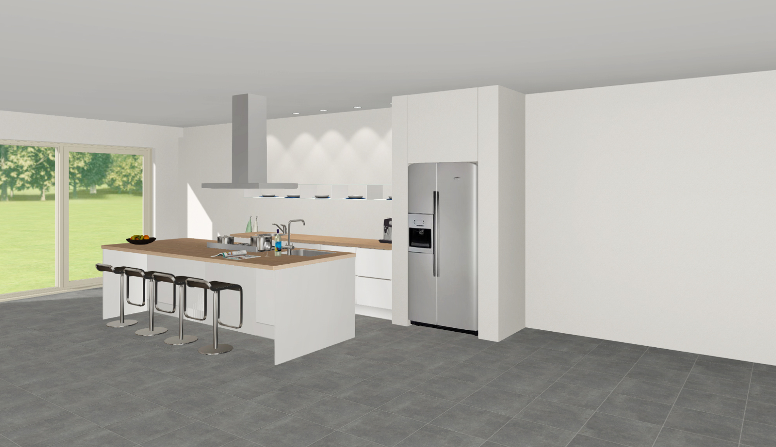 Rechte keuken bensheim steinhaus keuken kampioen - Eiland in de kleine keuken ...
