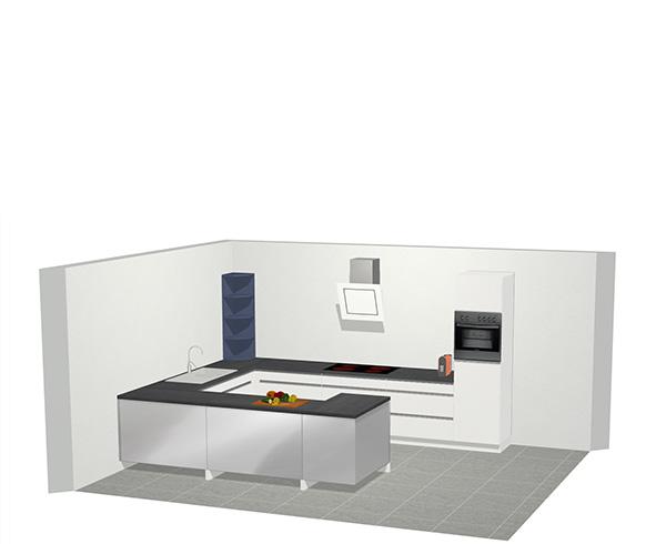 De G keuken:
