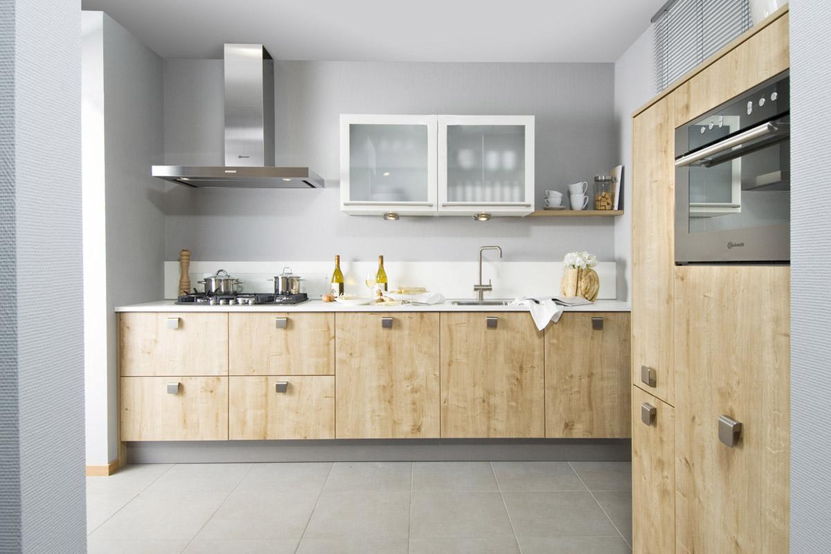 Houten keuken  kunststof houtlook als alternatief  u2013 Keuken Kampioen