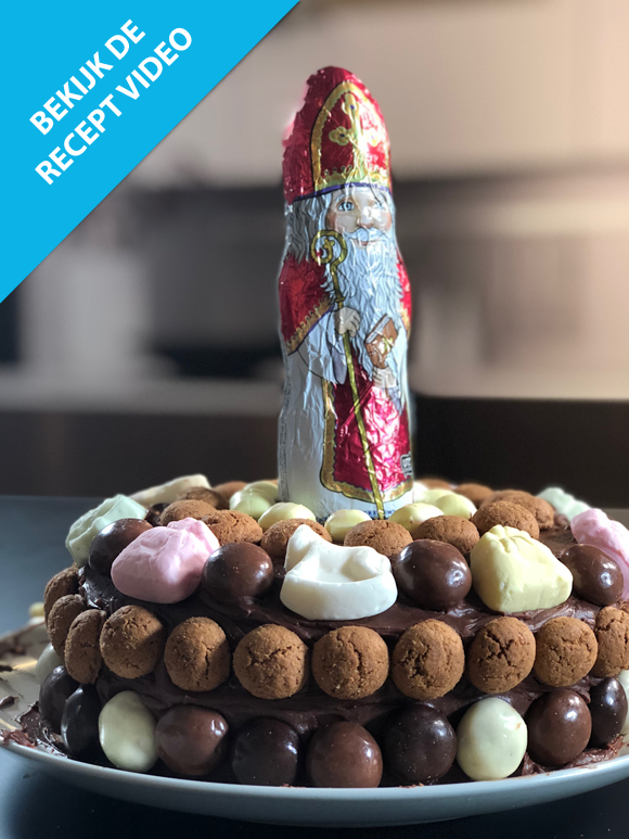 Koken met Francine - Sinterklaastaart
