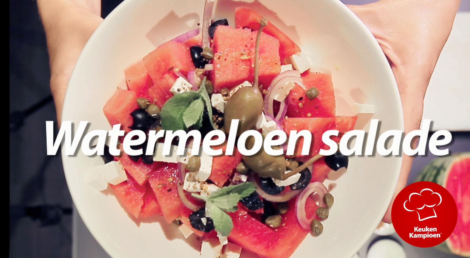 Koken met Francine: Watermeloensalade