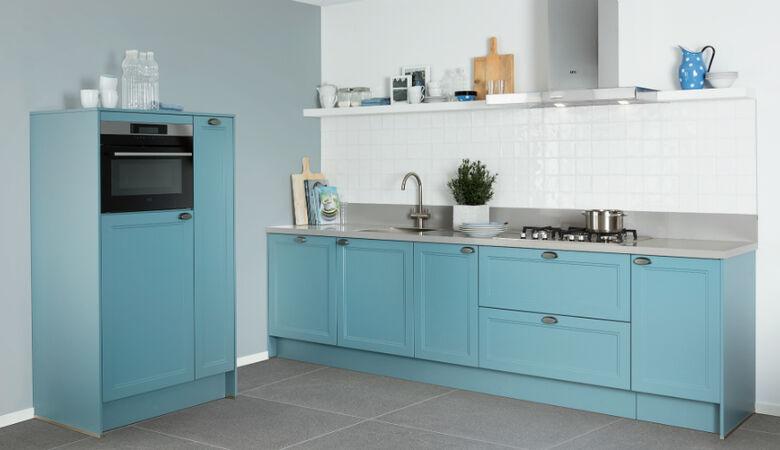 Pereta 517 blauwe keuken