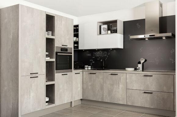 Keuken beton design leira