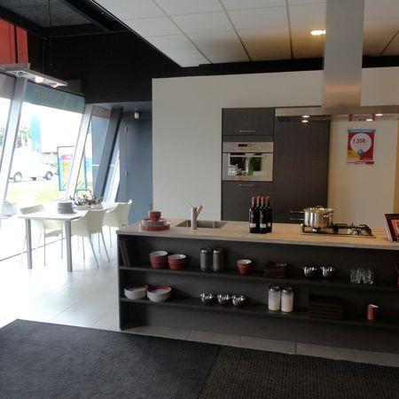 Showroomkeuken Zilverbruin Utrecht