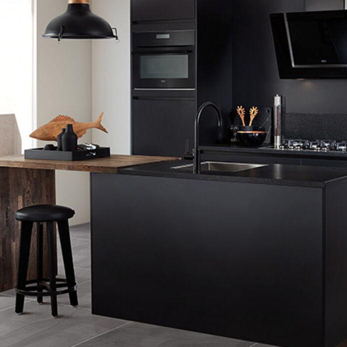 Zwarte Keukens Stoer En Stijlvol Keuken Kampioen