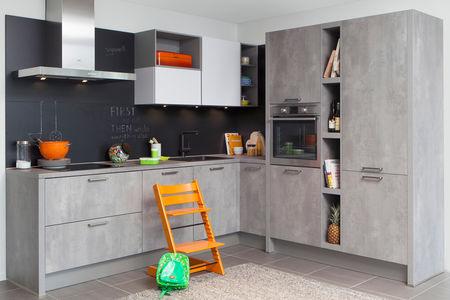 moderne keuken steinhaus leiria