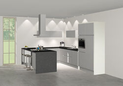 3D keuken Beira u-keuken