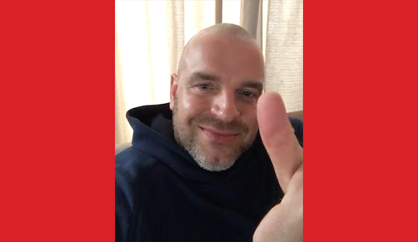 Andy van der Meijde stemt op RKPVV 1