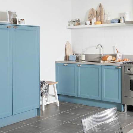 Keuken-blauw