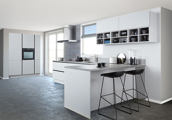 Witte Design keukens