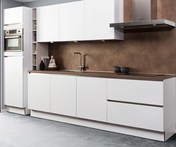 Moderne keukenkasten