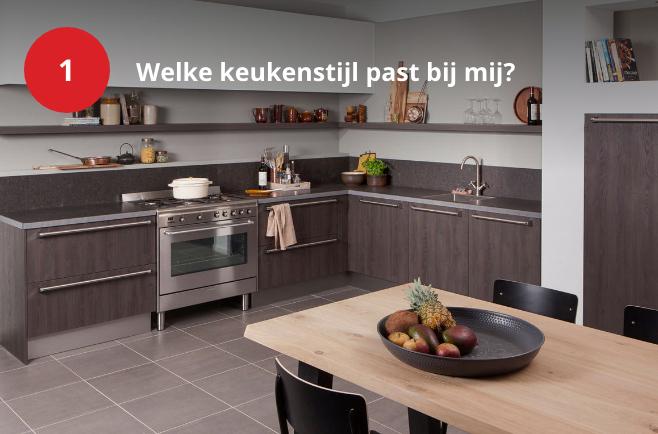 Welke keukenstijl past bij mij?
