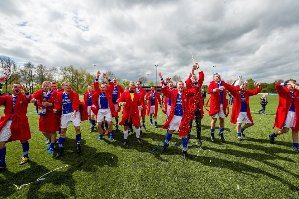 Kampioenskoorts euforie