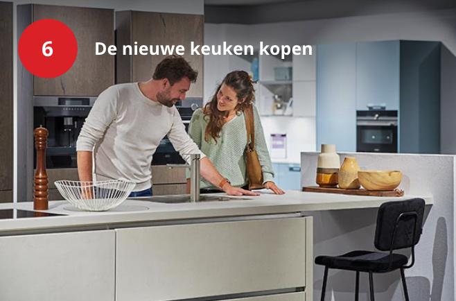 De nieuwe keuken kopen