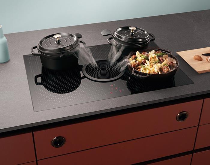 Bora kookplaat met kookveldafzuiging