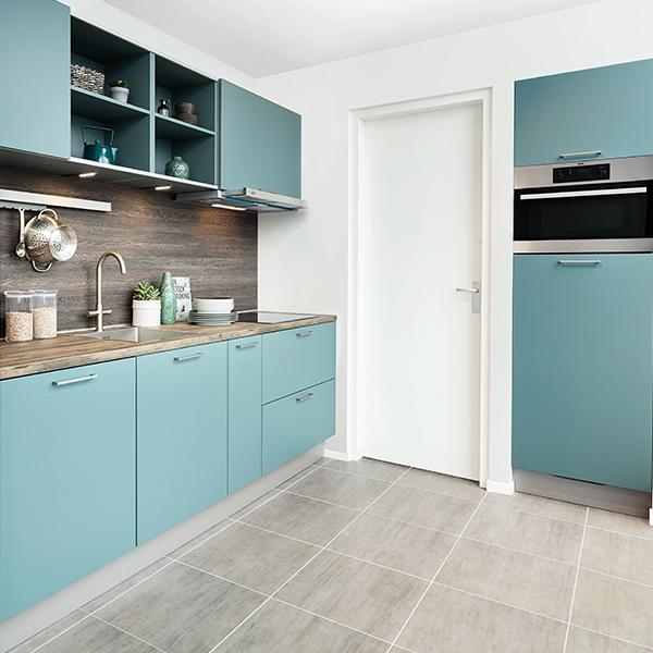 Keuken met HPL aanrechtblad