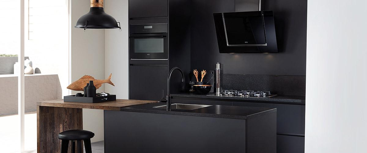 Keuken met granieten aanrechtblad