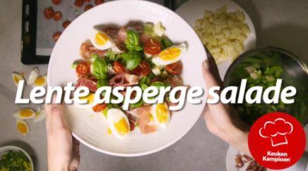 Lente asperge salade