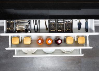 Keukentrend - brede keukenlades